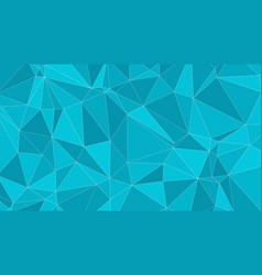 Lines and triangles shapes conception vector