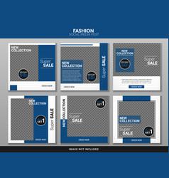 social media post vector image