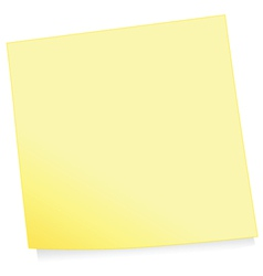 adhesive note vector image