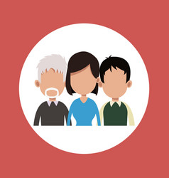 People community age various vector
