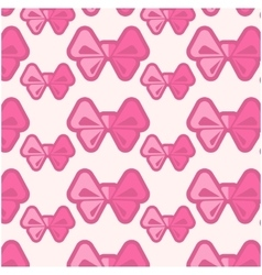 Background with bows vector image