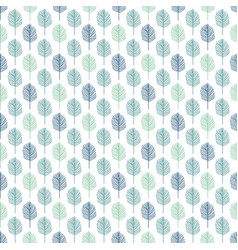 background of leaves pattern vector image