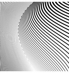 Design monochrome lines movement background vector image