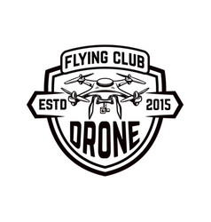 drone icon isolated on white background design vector image