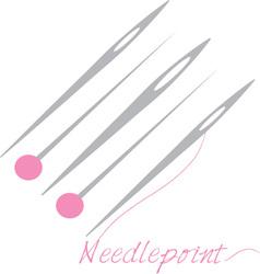 Needlepoint Thread vector