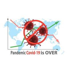 pandemic covid-19 quarantine and coronavirus vector image