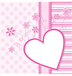 Valentines background vector