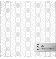 abstract seamless pattern lotus loop mesh ribbon vector image