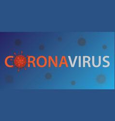coronavirus 2019 ncov design human virus vector image