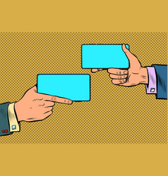 duel business negotiations business online vector image