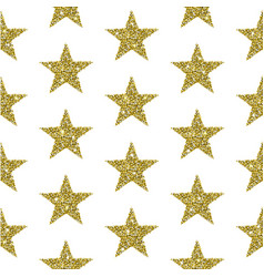 gold glitter stars background vector image