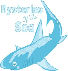 Mysteries Of Sea vector
