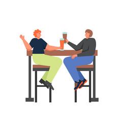 restaurant beer flat style design vector image