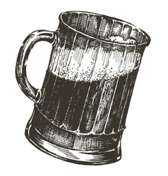 beer logo design template oktoberfest or vector image vector image