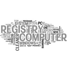 what everybody ought to know about registry vector image