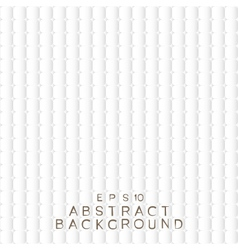 Abstract background white paper squares vector