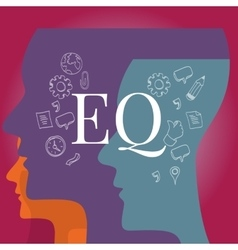 EQ emotional quotient intelligence vector