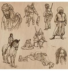 Natives - hand drawn vector
