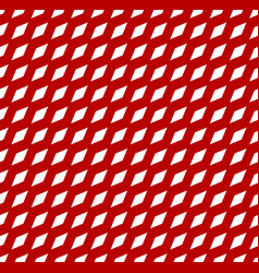 Simple seamless pattern with tilted rhombus vector