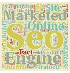 Why Should I Consider A Career In Seo text vector