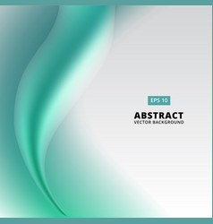abstract picture with green embossed pattern vector image vector image