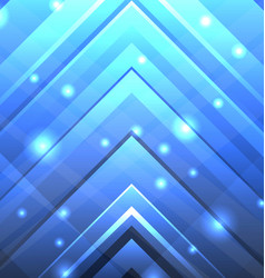 abstract techno background with transparent arrows vector image vector image