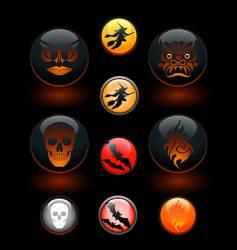 icon-o-lanterns vector image vector image