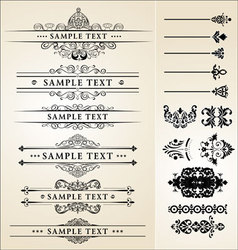 Calligraphy designs vector