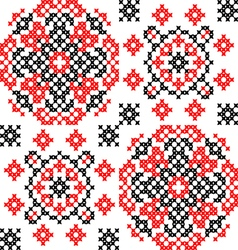 Abstract texture of ornaments vector image