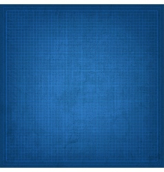 Blueprint old background vector image