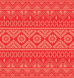 cool pink native american ethnic pattern vector image
