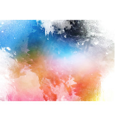 detailed colourful watercolour texture background vector image