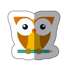 Isolated owl cartoon design vector