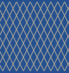Seamless pattern of rhombus vector