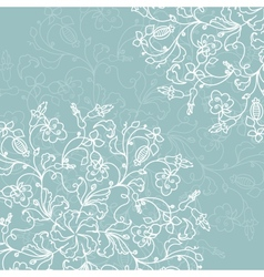 Abstract decoration with ornate detailed ornament vector image vector image