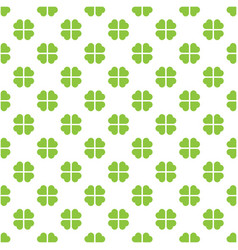 abstract seamless pattern mosaic of green vector image vector image