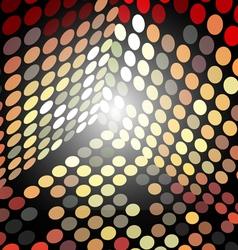 box of circles vector image