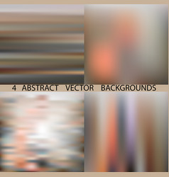 Broun background set vector