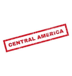 Central America Rubber Stamp vector