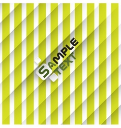 Green And White Striped Background vector image