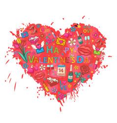 holiday heart signholiday clip art vector image