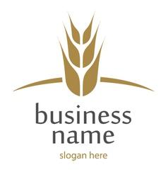 Logo flour vector