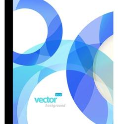 modern circles vector image