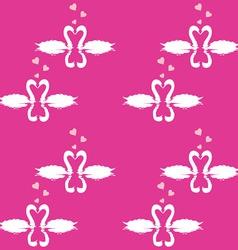 Swan Pattern vector image