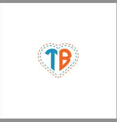 T b letter logo design on black color background vector