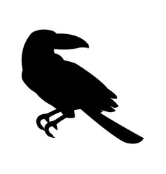 tropical bird icon image vector image vector image