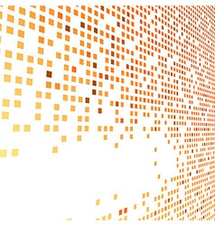Orange bright tiles empty background vector image