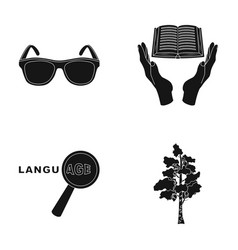 clothing training and or web icon in black style vector image