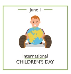 children day vector image