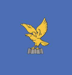 friuli-venezia giulia flag vector image